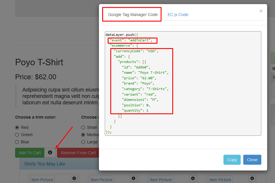 Enhanced Ecommerce Datalayer With GTM