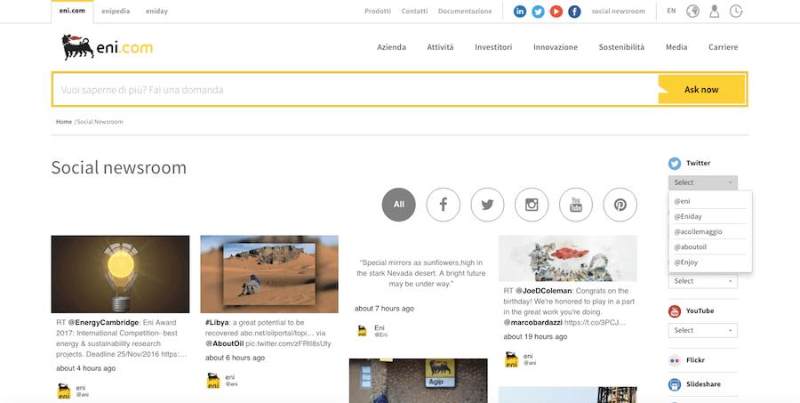 Consigli per non sbagliare il restyling del sito: il caso Eni