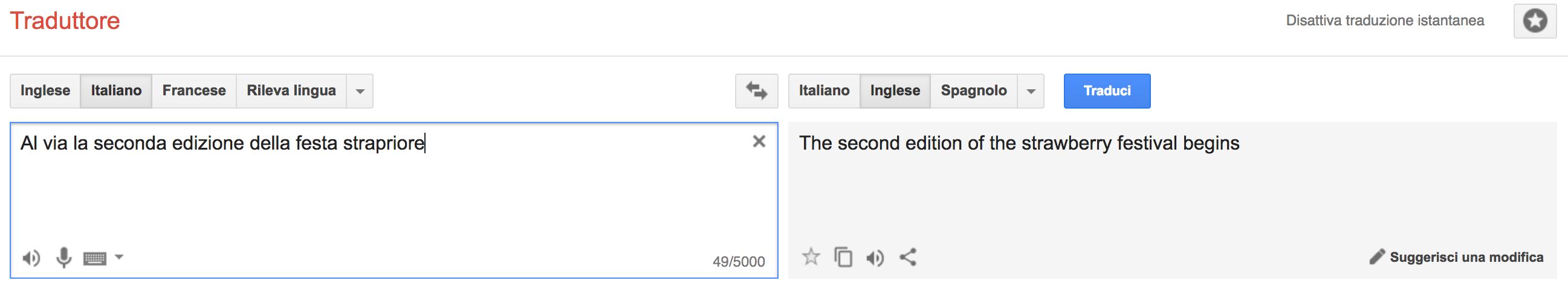 Parole errate o inventate: come reagisce il traduttore di Google