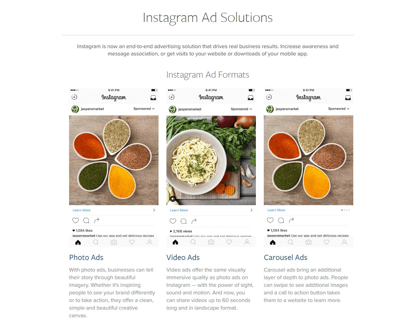 Instagram Adv: la dashboard per la tua attività di advertising