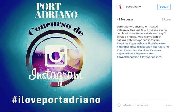 Redes Sociales para restaurantes - Concurso en Instagram