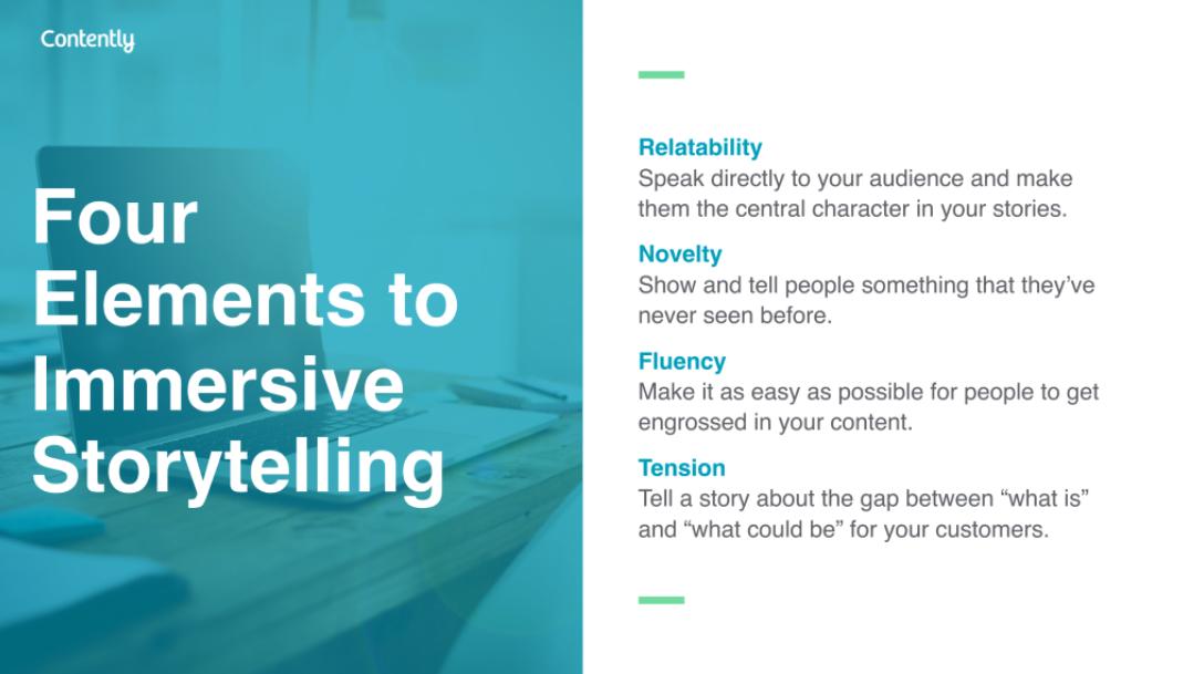 Elements of Immersive Storytelling