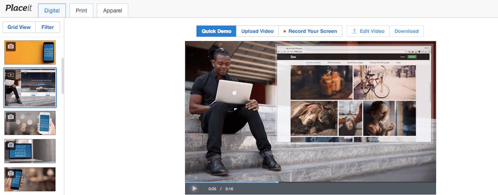 Rendi virali i tuoi post con il tool gratuito Placeit