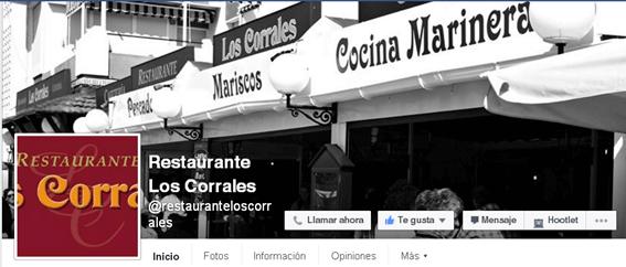 Redes Sociales para restaurantes - CTA ok y foto de perfil incorrecta Facebook