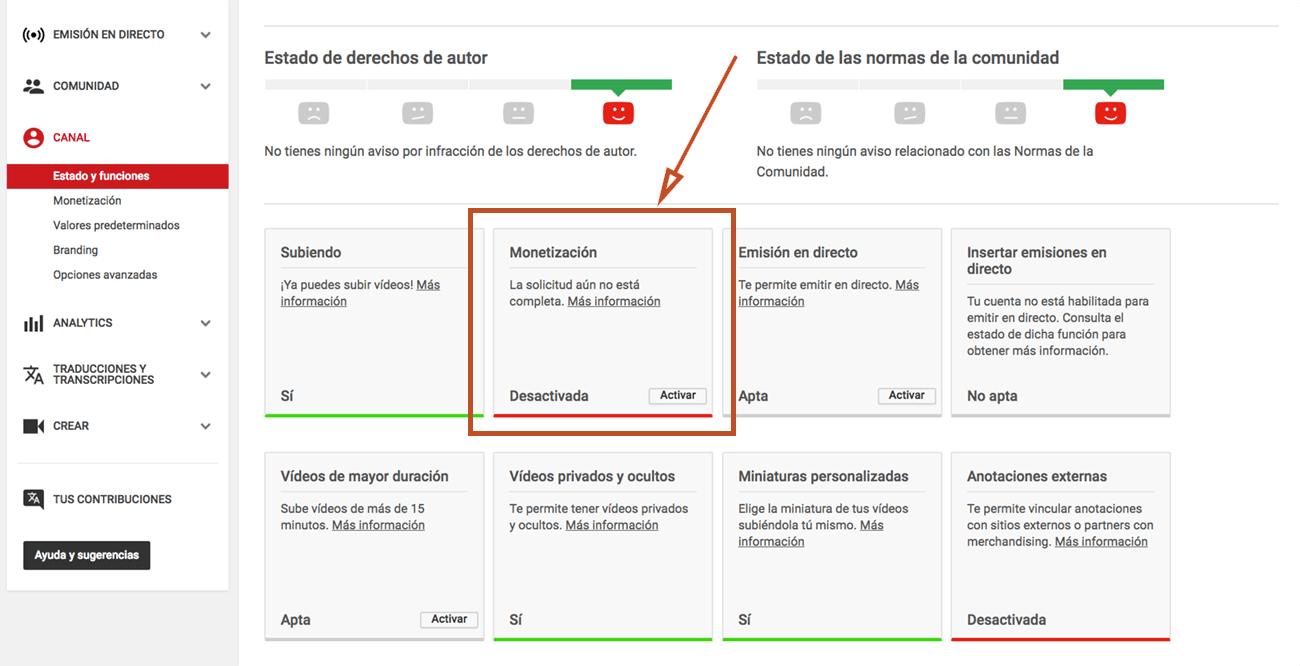 Qué es Google Adsense - Activar monetización