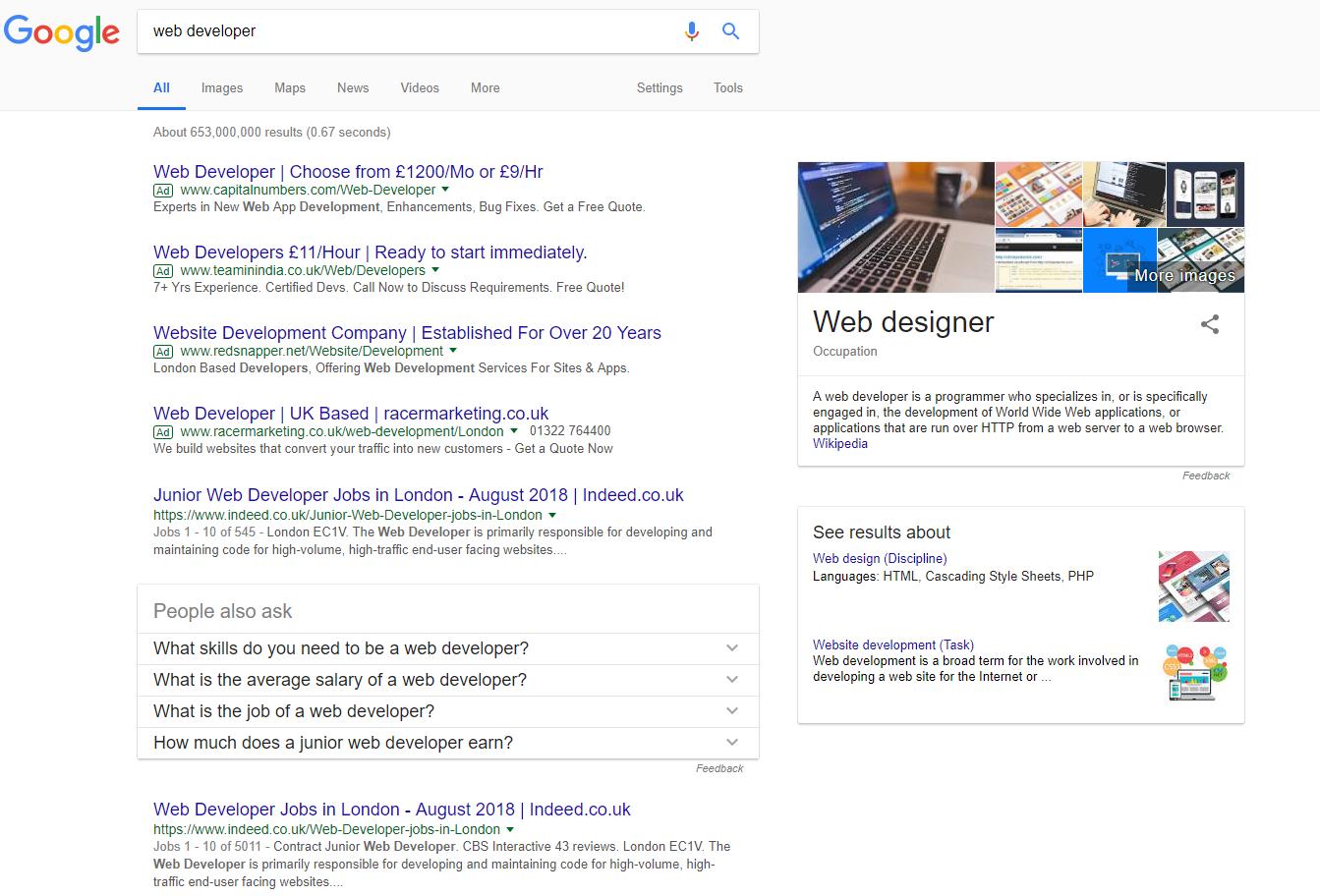 Search results for 'web developer'