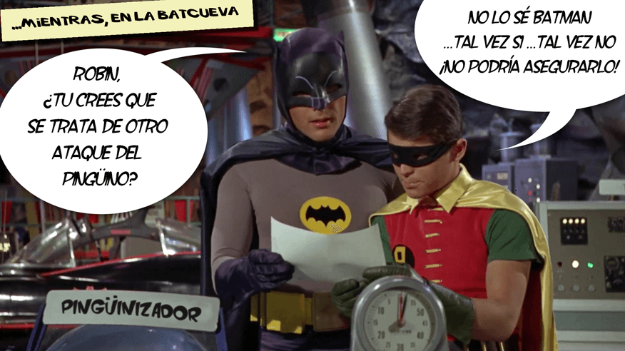 Batman y Penguin 4.0