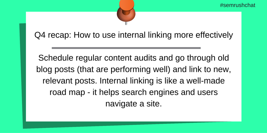 Effective Internal linking
