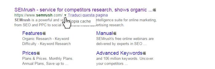 Come consultare la cache di Google