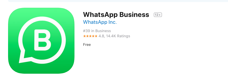 Whatsap business App