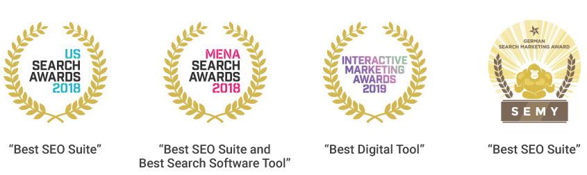 Miglior SEO suite: i premi vinti da SEMrush nel 2019