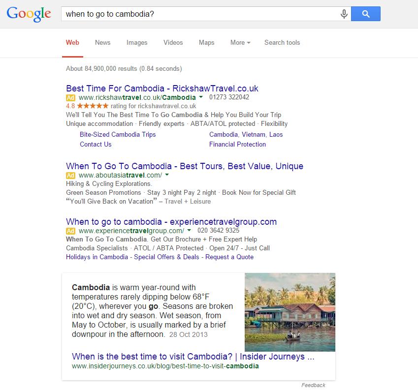 Cambodia-google-answer-box
