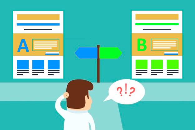 Tests A/B para saber si los cambios de una Landing Page funcionan