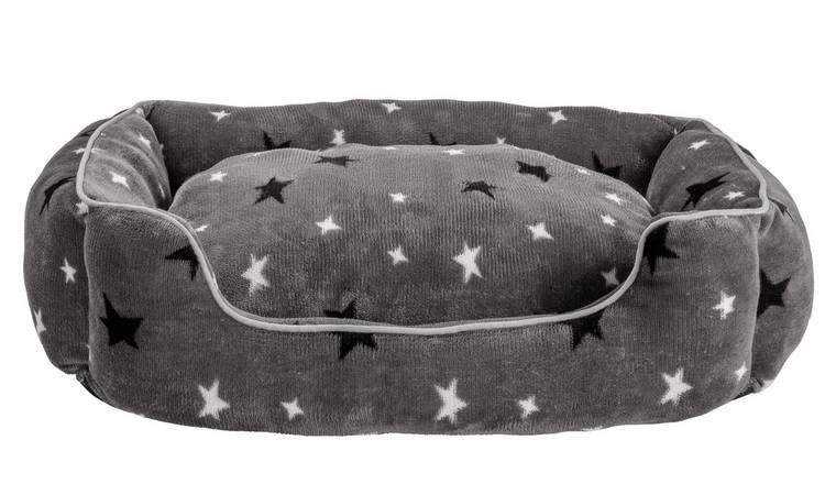 Wordpress SEO checklist - Imagen cama cuadrada estrellada para perros