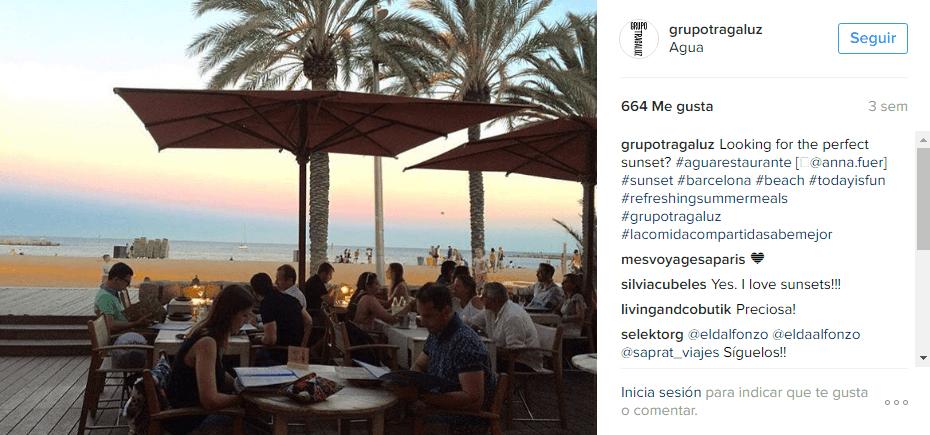 Acciones Instagram - localiza tu negocio