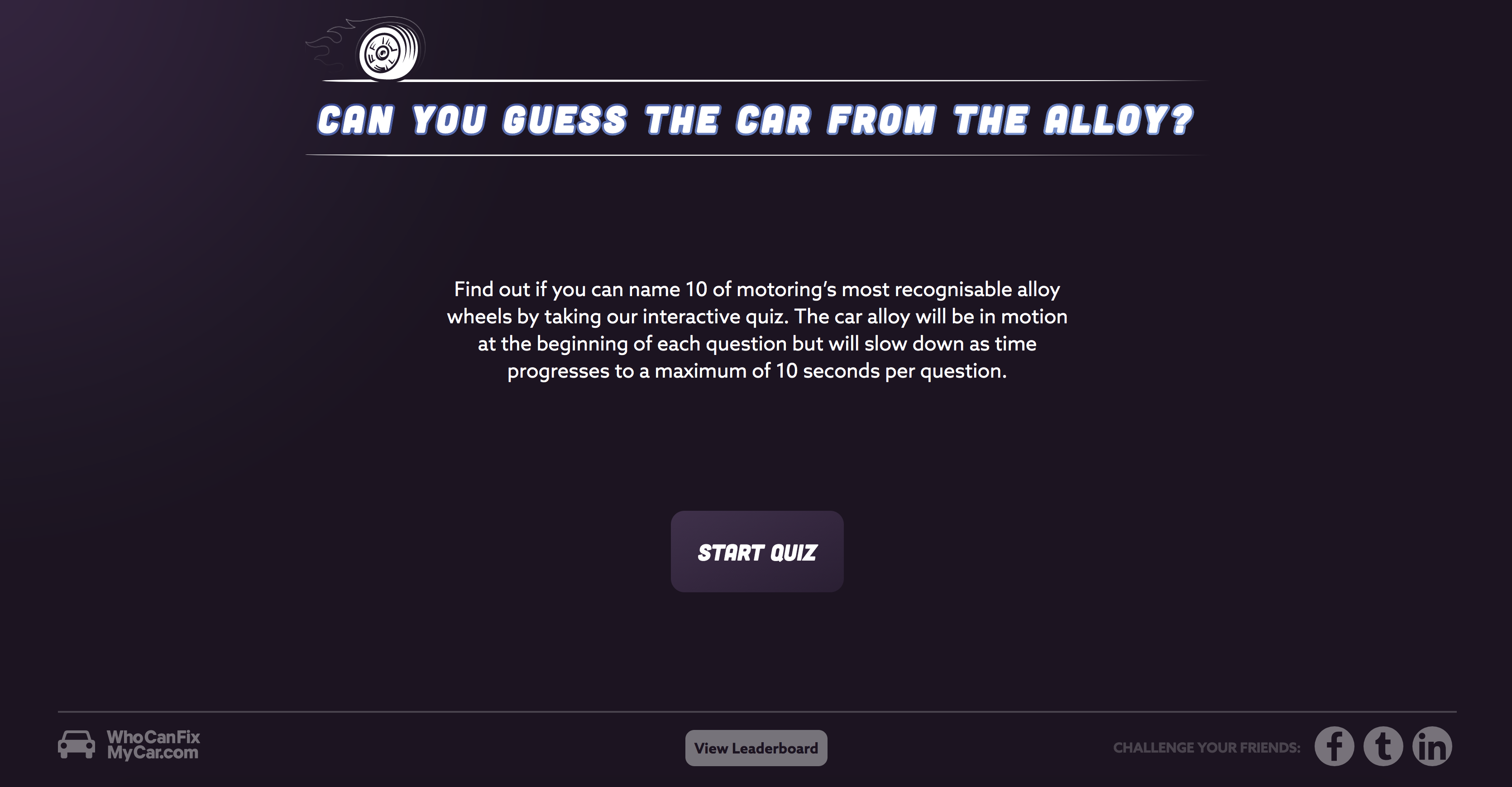 Car Alloy Quiz