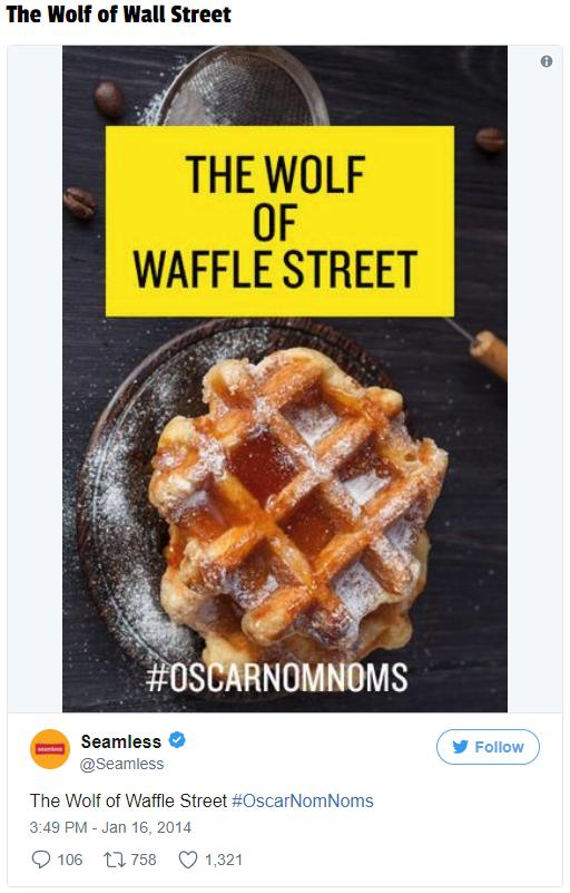 Oscar's NomNoms campaign