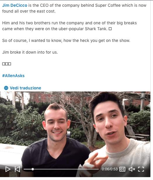 Quali post condividere su LinkedIn? Il successo dei video