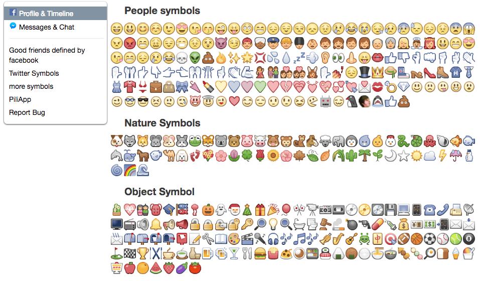 Tutte le emoji per le tue attività di Social media manager