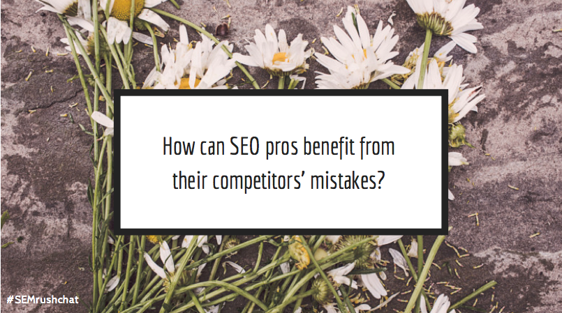 How can you benefit from competitors' mistakes