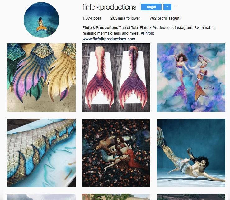 I migliori account Instagram da seguire: Finfolk Productions