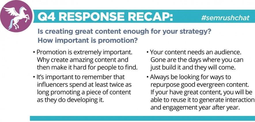 #semrush chat response recap