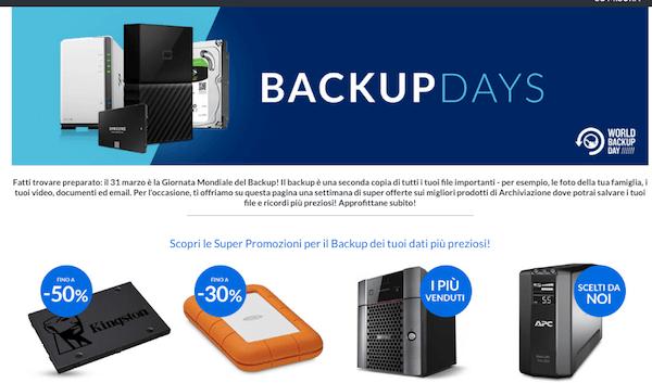 Backuo days: come sfruttarla per un ecommerce