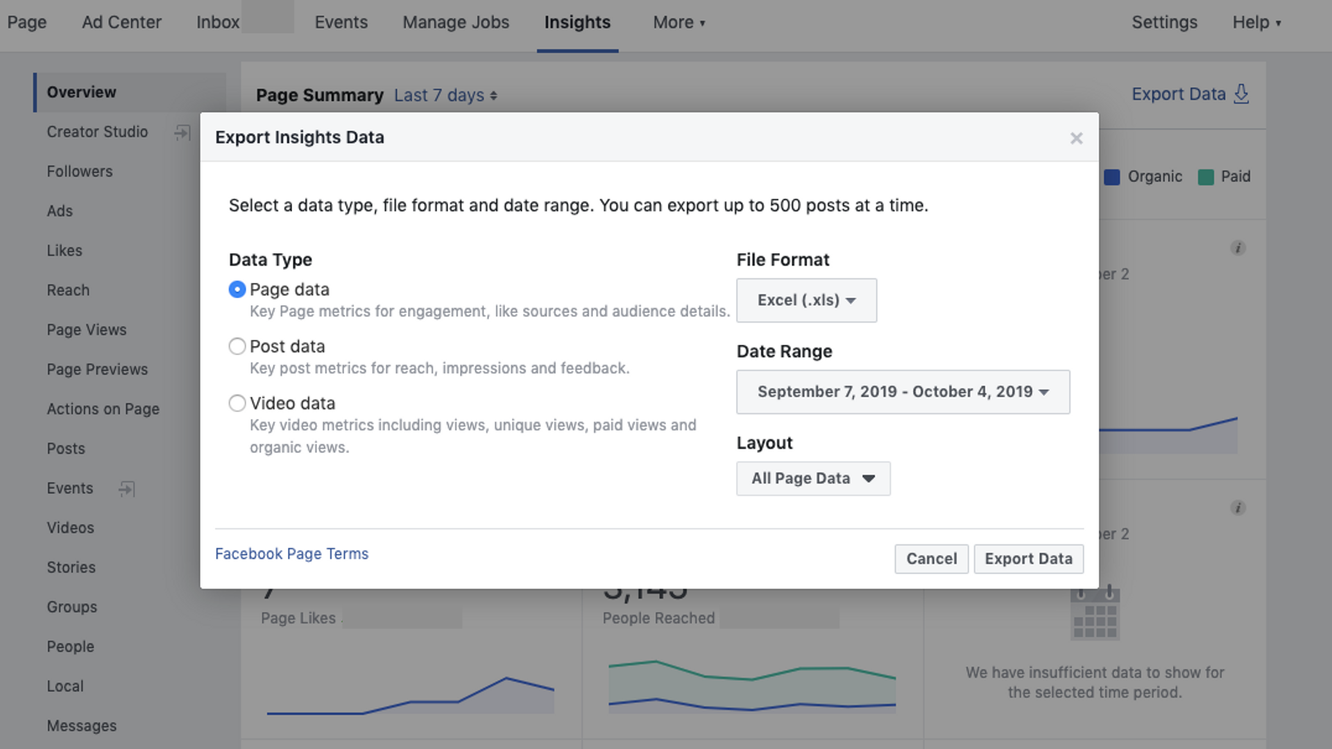 Using Facebook Insights to Monitor (and Repair) Your Falling Facebook Followers. Image 4