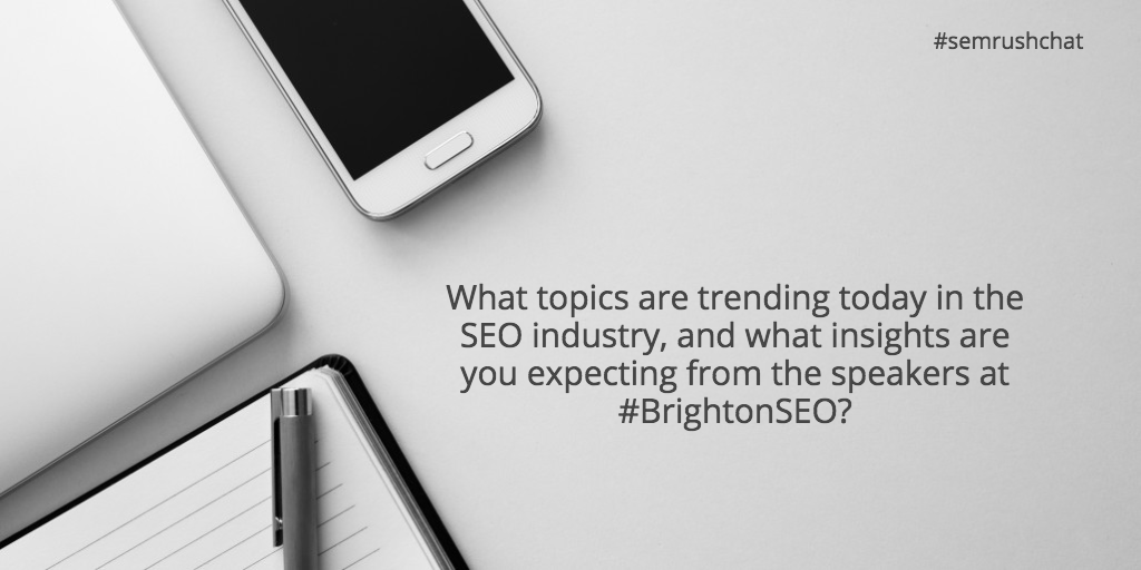 What topics are trending today in the SEO industry?