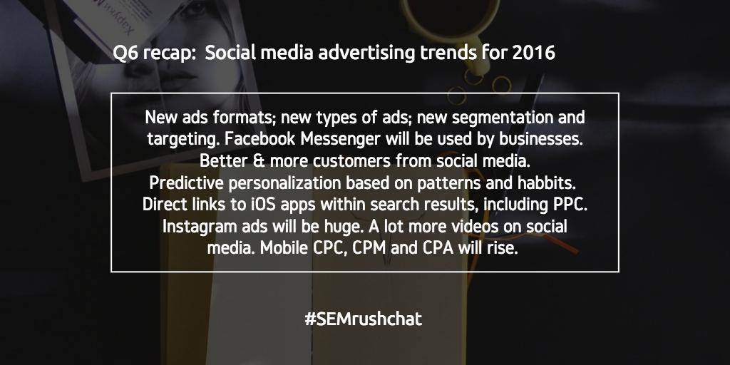 Social media advertising trends for 2016