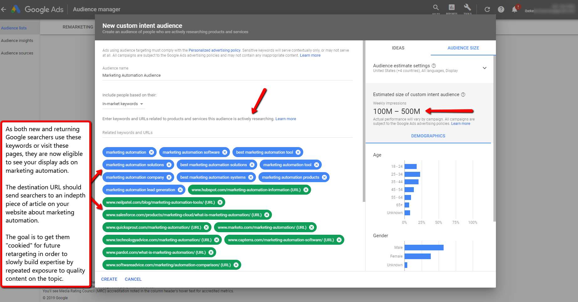 The Ultimate Guide to Google's Custom Intent Audiences. Image 11