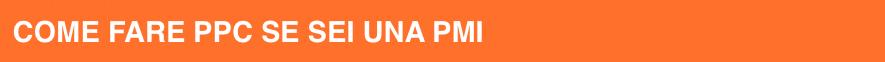 Come fare PPC se sei una PMI