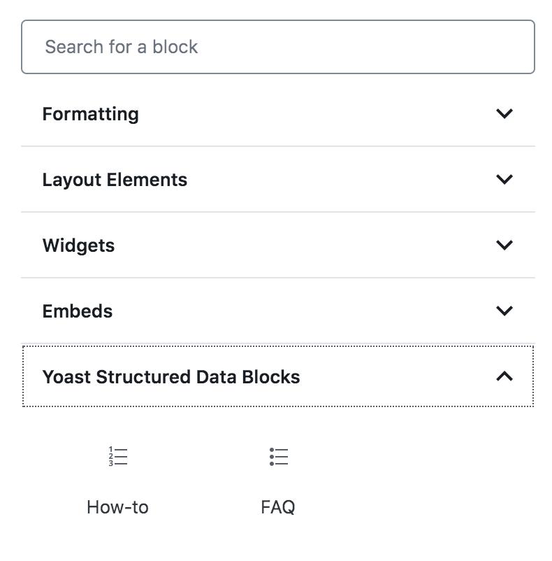 Wordpress SEO checklist - Marcado Schema