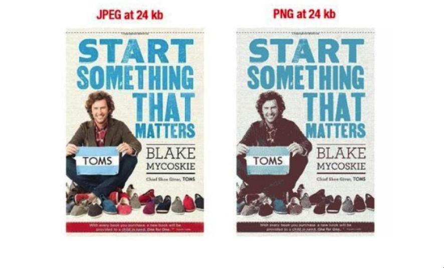 Immagini per ecommerce: in ottica seo è meglio un JPEG