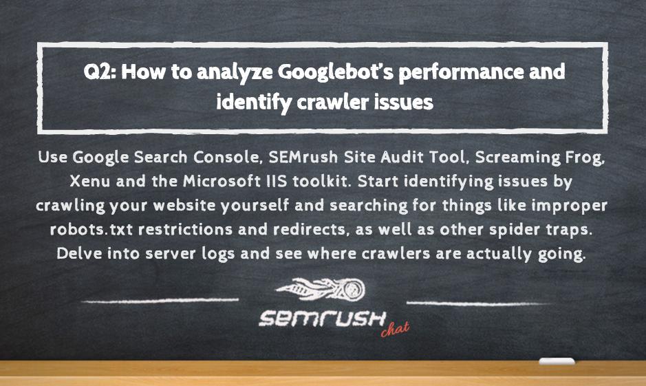 Google bot performance