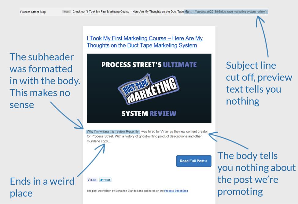 Blog Post Extract and CTA