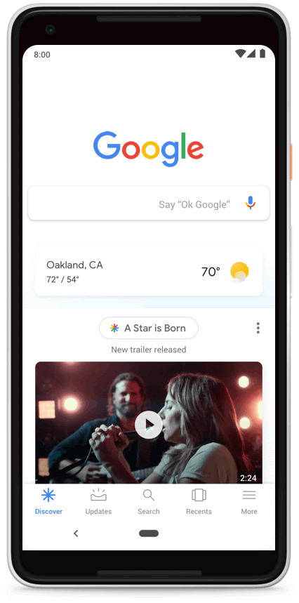 The new look Google Discover
