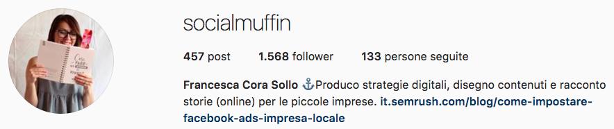 I consigli degli esperti di Instagram: Francesca Cora Sollo