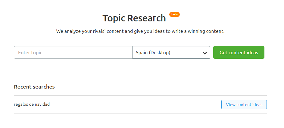 Topic research para content strategists - Búsqueda de temas