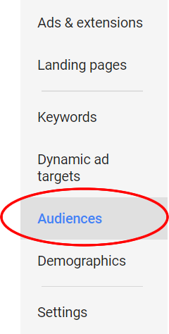 Audiences in Google Ads