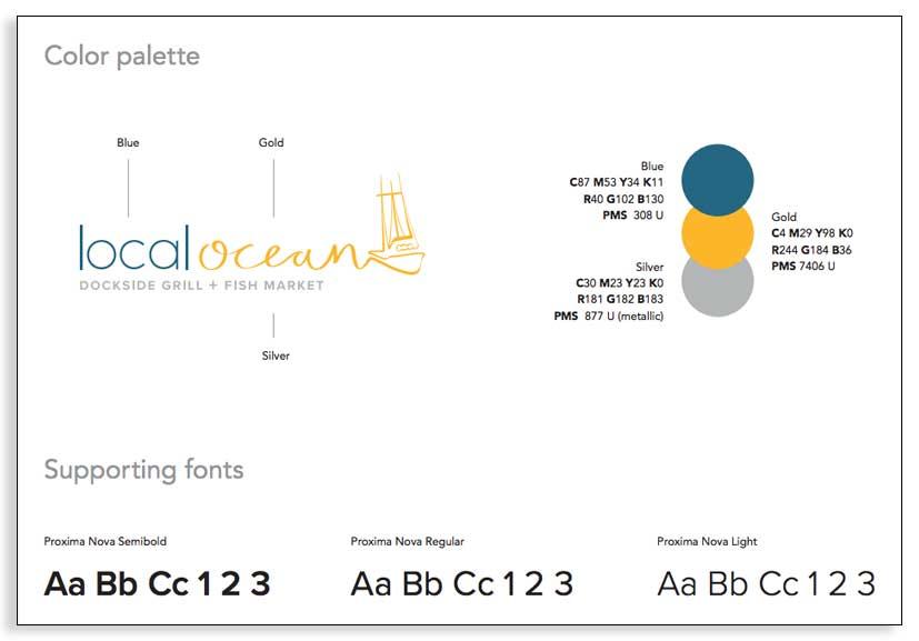 Guía de estilo para marcas - La paleta de colores