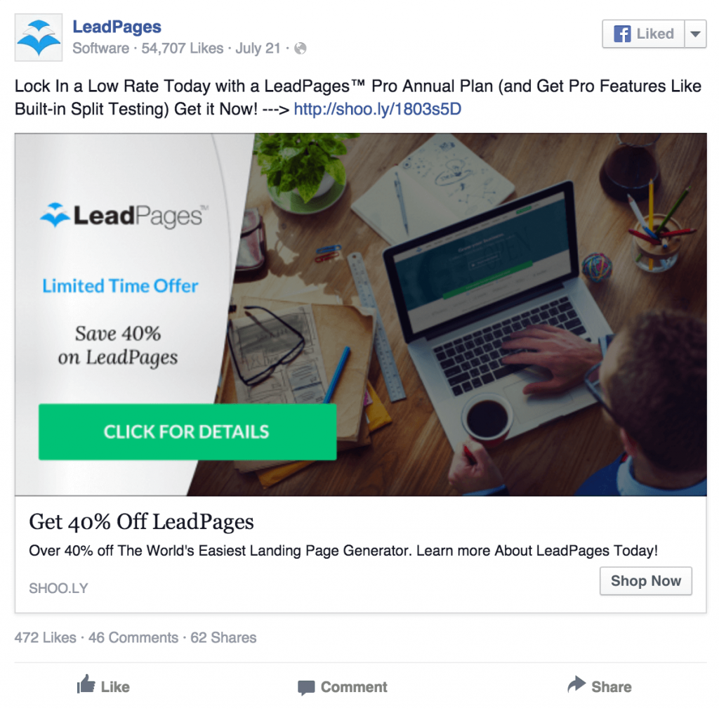 leadpages-facebook-ad