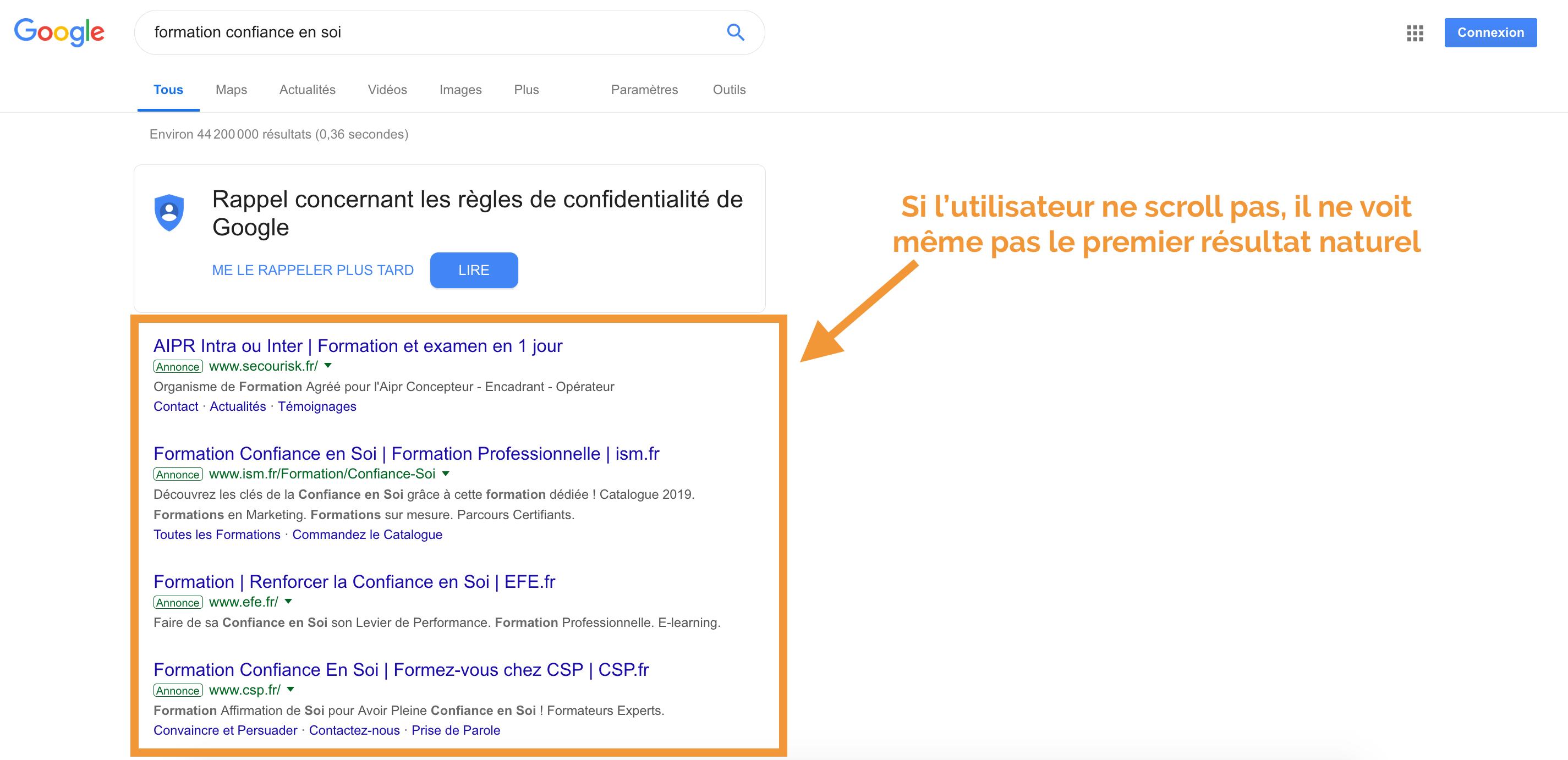 trouver des mots-clés pertinents en 2019 GoogleAds