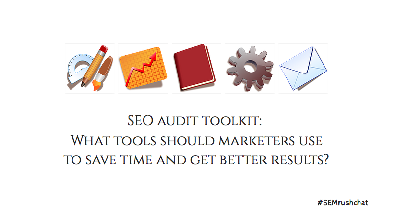 SEO audit toolkit