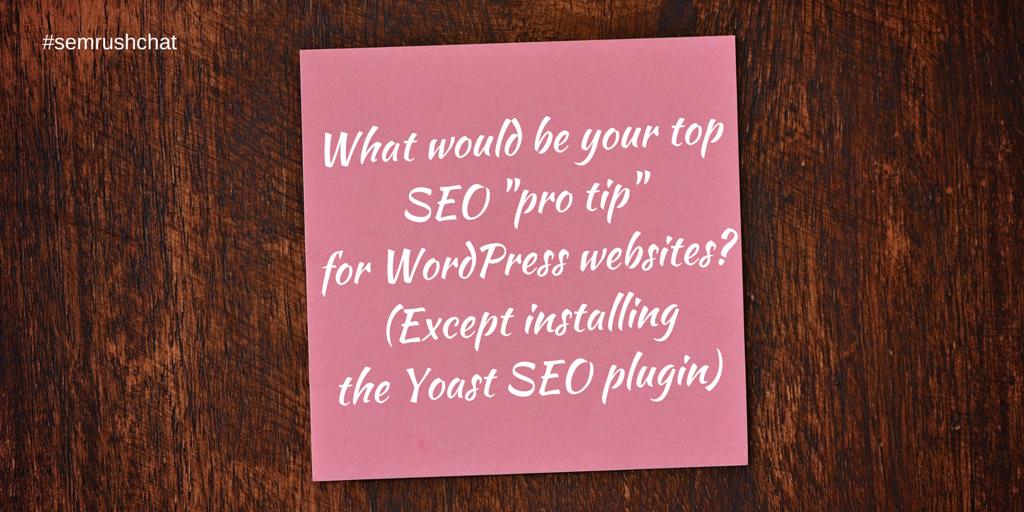 WordPress pro tips