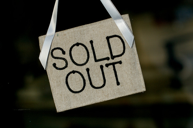 sold out events