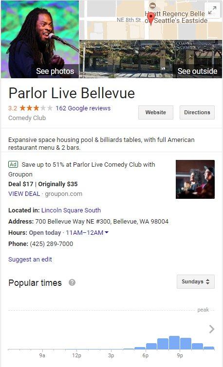 Google ads knowledge panel