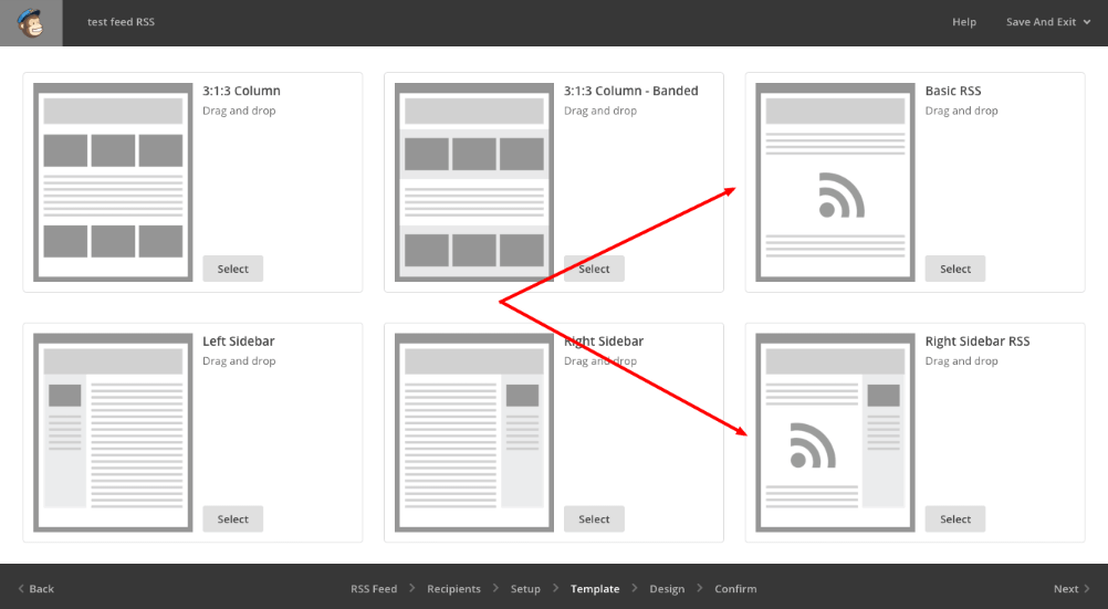 I basic template di Mailchimp per la tua newsletter