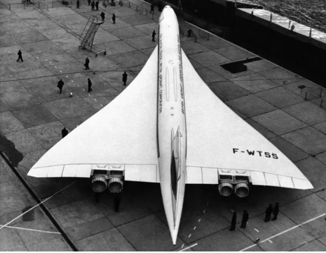 Concorde: The first supersonic aircraft