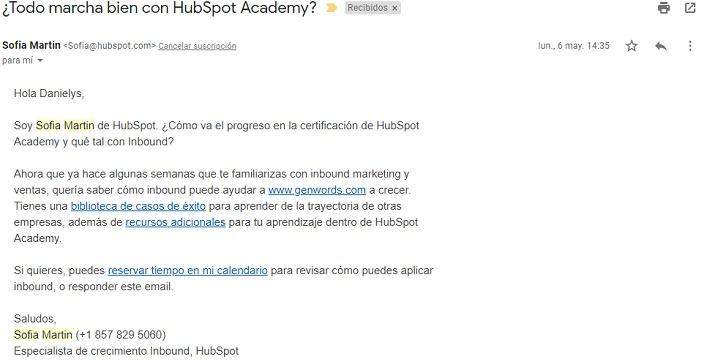 Personalización en Marketing - Hubspot